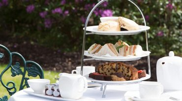 Beaulieu Hotel or Moorhill House Hotel Traditional Afternoon tea